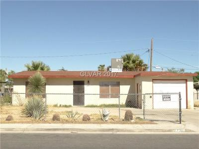 North Las Vegas Single Family Home For Sale: 2720 Magnet Street