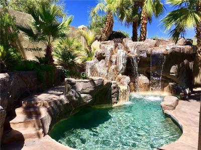 Las Vegas Single Family Home For Sale: 2309 Bloomington Drive