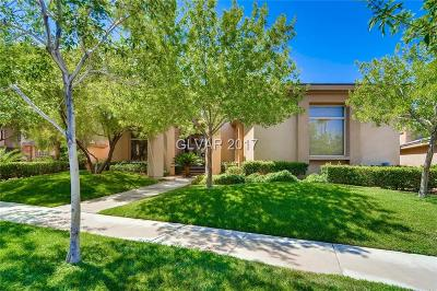 Henderson NV Single Family Home Under Contract - No Show: $1,250,000