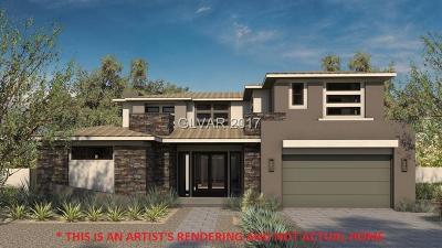 Las Vegas Single Family Home For Sale: 52 Pristine Glen Street