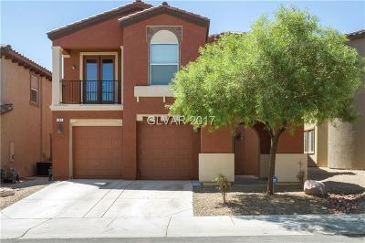 Las Vegas Single Family Home For Sale: 107 Honors Course Drive