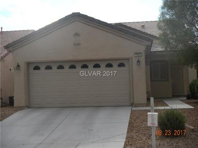 North Las Vegas Single Family Home For Sale: 7925 Grey Teal Street