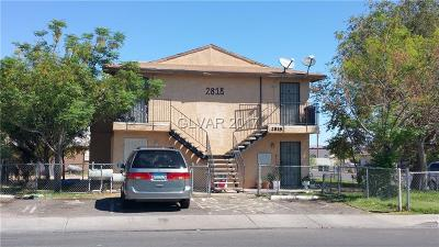 North Las Vegas Multi Family Home For Sale: 2818 Haddock Avenue
