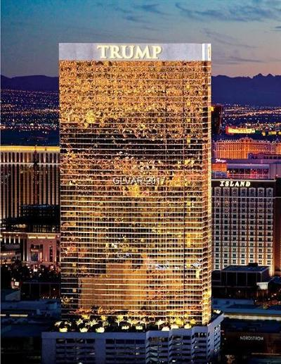 Trump Intl Hotel & Tower-, Trump Intl Hotel & Tower- Las High Rise For Sale: 2000 Fashion Show Drive #4010