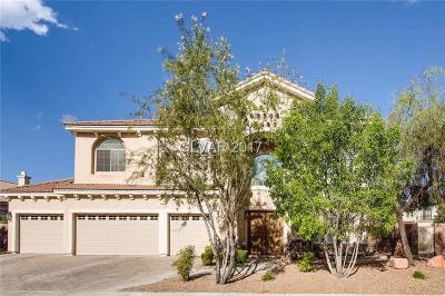 Las Vegas Single Family Home For Sale: 10808 Bernini Drive