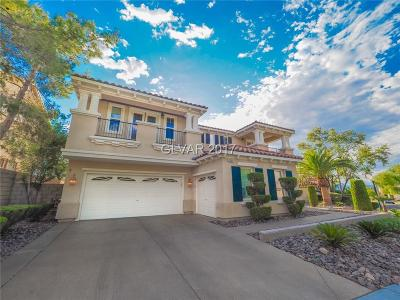 Henderson NV Single Family Home For Sale: $799,900