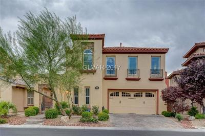 Las Vegas Single Family Home For Sale: 199 Crooked Putter Drive