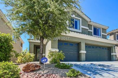 Las Vegas Single Family Home For Sale: 63 Tall Ruff Drive