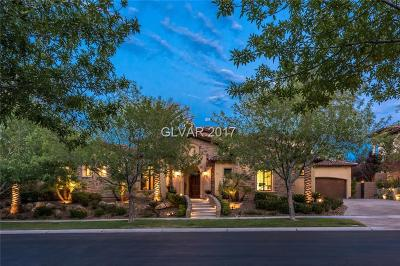 Las Vegas Single Family Home For Sale: 20 Vintage Valley Drive