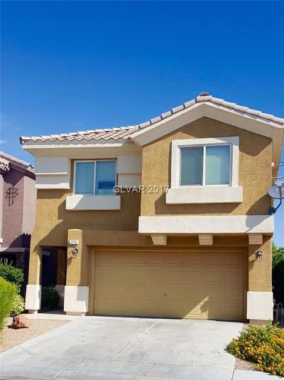 Las Vegas Single Family Home For Sale: 270 Caddy Bag Court