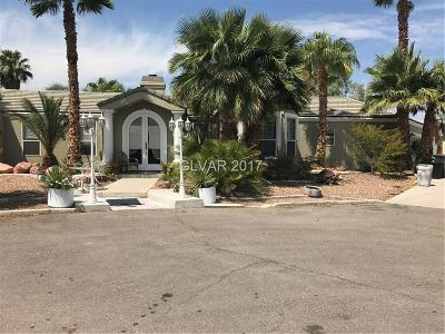 Clark County Single Family Home For Sale: 5825 Palm Street