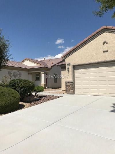 North Las Vegas Single Family Home For Sale: 2712 Cheer Pheasant Avenue