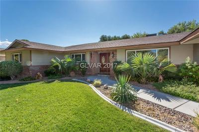 Clark County Single Family Home Contingent Offer: 4189 Ridgecrest Drive