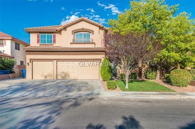 Las Vegas  Single Family Home For Sale: 3086 Blue Monaco Street