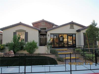 Henderson Single Family Home For Sale: 440 Calabria Beach Street #Lot 28
