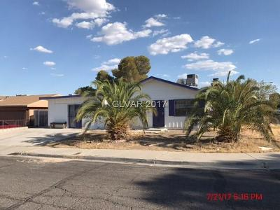 Las Vegas Single Family Home Contingent Offer: 5251 Vicksburg Avenue