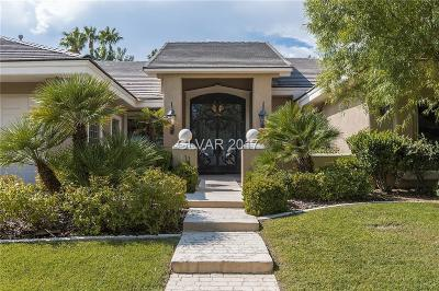 Summerlin Village Single Family Home For Sale: 641 Canyon Greens Drive