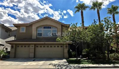 Henderson Single Family Home For Sale: 2445 Ping Drive