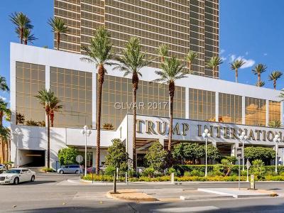 Trump Intl Hotel & Tower-, Trump Intl Hotel & Tower- Las High Rise For Sale: 2000 Fashion Show Drive #2322