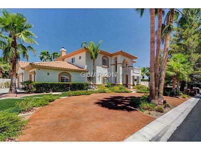 Las Vegas Single Family Home For Sale: 5645 North Juliano Road