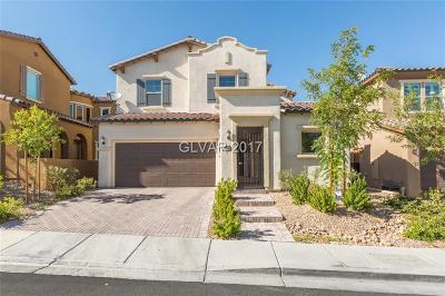 Las Vegas Single Family Home For Sale: 12228 Nasino Avenue