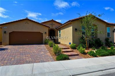 Henderson Single Family Home For Sale: 2365 Boretto Street