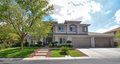Las Vegas Single Family Home For Sale: 9917 Fox Springs Drive