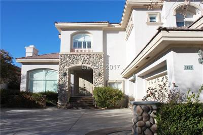 Las Vegas Single Family Home For Sale: 9328 Provence Garden Lane