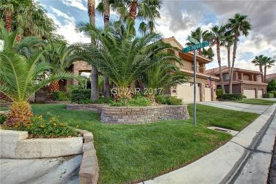 Las Vegas Single Family Home For Sale: 2320 Silver Bluff Court