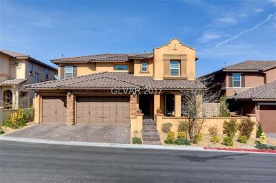Las Vegas Single Family Home For Sale: 730 Step Beach Street