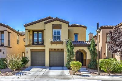 Las Vegas Single Family Home For Sale: 51 Honors Course Drive