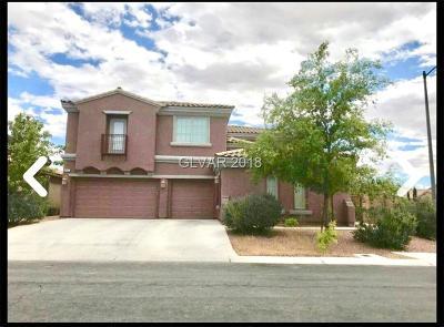 Las Vegas Single Family Home For Sale: 6055 Aromatico Court