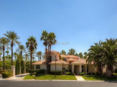 Las Vegas NV Single Family Home For Sale: $1,189,000