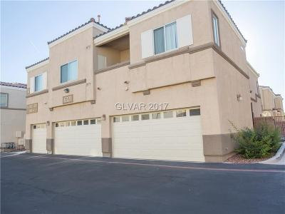 North Las Vegas Condo/Townhouse For Sale: 6321 Snap Ridge Street #102