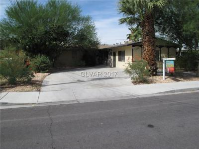 Las Vegas NV Single Family Home For Sale: $298,500