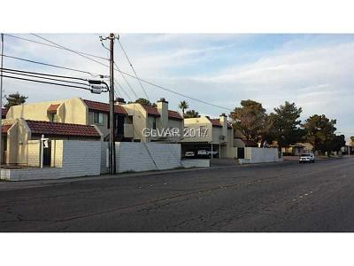 North Las Vegas Condo/Townhouse For Sale: 2104 Venus Avenue #D