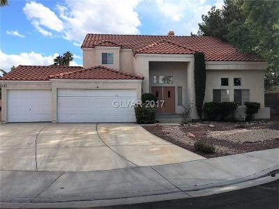 Henderson Single Family Home For Sale: 1732 Stagecoach Drive