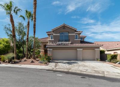 Las Vegas Single Family Home For Sale: 8444 Desert Quail Drive