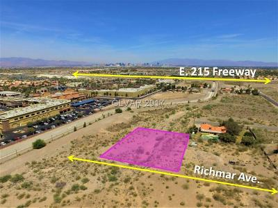 Henderson Residential Lots & Land For Sale: Richmar Ave.