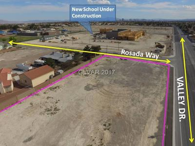 North Las Vegas Residential Lots & Land For Sale: Valley Dr.