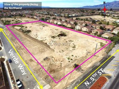 Residential Lots & Land For Sale: 5th St.