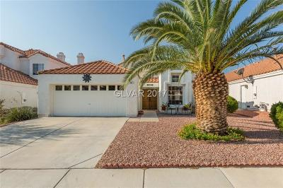 Henderson Single Family Home For Sale: 281 Comfort Drive