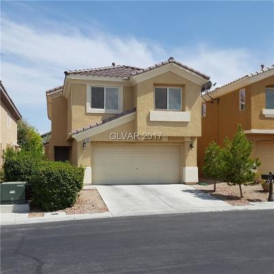 Las Vegas Single Family Home For Sale: 286 Fairway Woods Drive