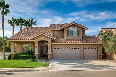 Las Vegas Single Family Home For Sale: 8707 Vista Cantera Court