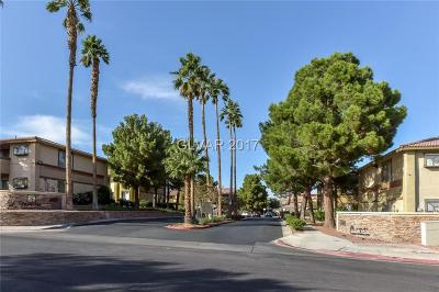 Las Vegas Condo/Townhouse For Sale: 7300 Pirates Cove Road #1007