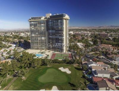 Clark County High Rise For Sale: 3111 Bel Air Drive #4A