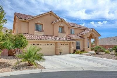 Las Vegas Single Family Home For Sale: 166 Ginger Root Court