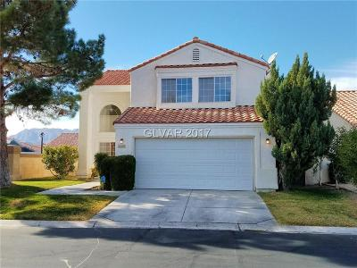 Las Vegas Single Family Home Contingent Offer: 5501 Red Sun Drive