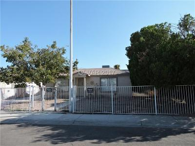 North Las Vegas Single Family Home For Sale: 601 Glendale Avenue
