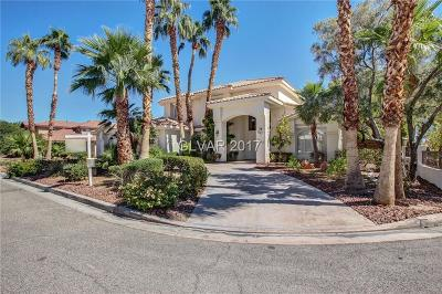 Las Vegas Single Family Home For Sale: 2860 Mountain Mist Court
